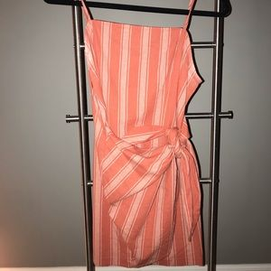 Spaghetti Strap Side-Tie Dress